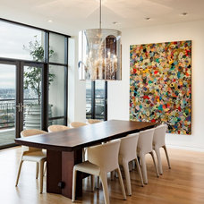 Contemporary Dining Room by Maven Interiors
