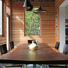 Contemporary Dining Room by Craig O'Connell Architecture
