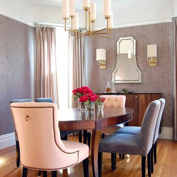 Noe Valley dining room