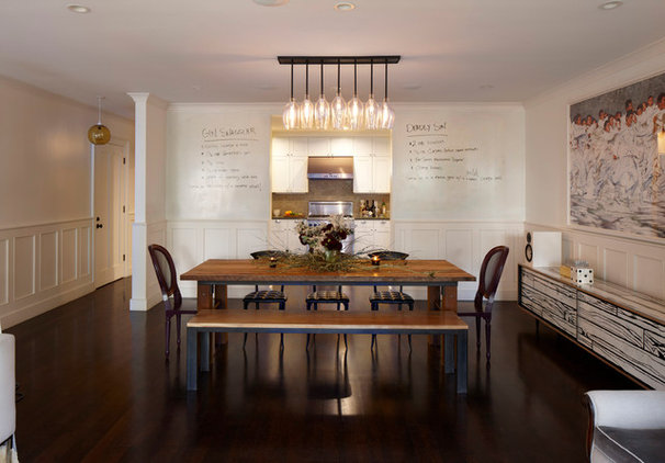 Eclectic Dining Room by GEREMIA DESIGN