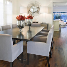 Contemporary Dining Room by Green Couch Interior Design