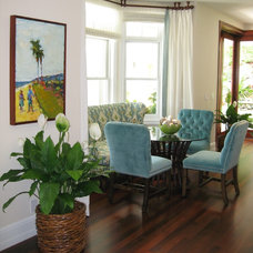 Tropical Dining Room by D for Design