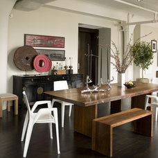 Contemporary Dining Room by Thom Filicia Inc.