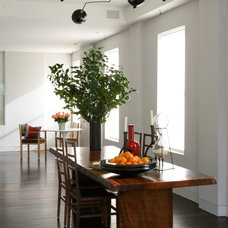 Contemporary Dining Room by Wettling Architects