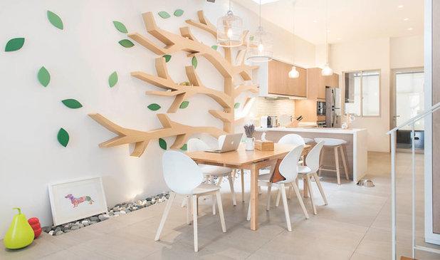 Scandinavian Dining Room by Proj. B Studio