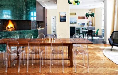 Tänk om runt matbordet – här är stolarna som har hög wow-faktor