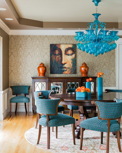 Contemporary Dining Room by Ana Donohue Interiors
