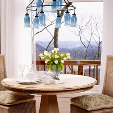 Eclectic Dining Room by Greeson & Fast Design