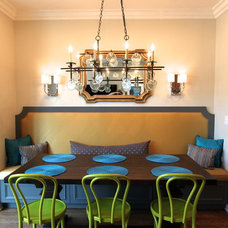 Traditional Dining Room by Lisa Wolfe Design, Ltd