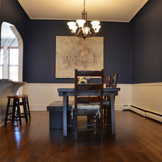 Traditional Dining Room by Louise Johnston Design