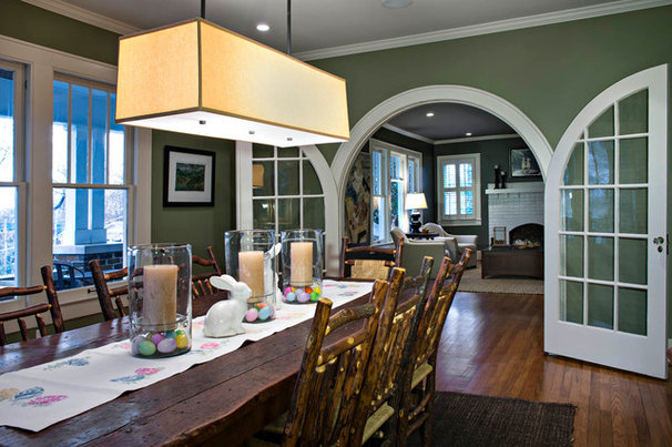 Traditional Dining Room by Collier Construction