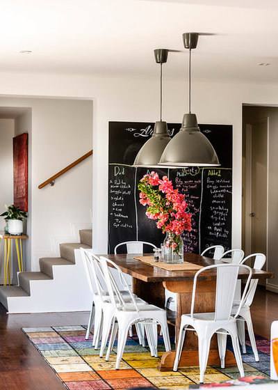 Contemporary Dining Room by Collected Interiors