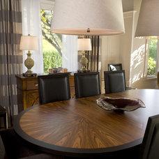Transitional Dining Room by Scott Neste | Minor Details Interior Design