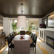 Transitional Dining Room by Scott Neste | Minor Details Interior Design
