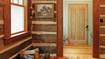 North Georgia log cabin, Dining room