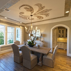 Traditional Dining Room by Frankel Building Group