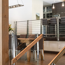 Contemporary Dining Room by site lines architecture inc.