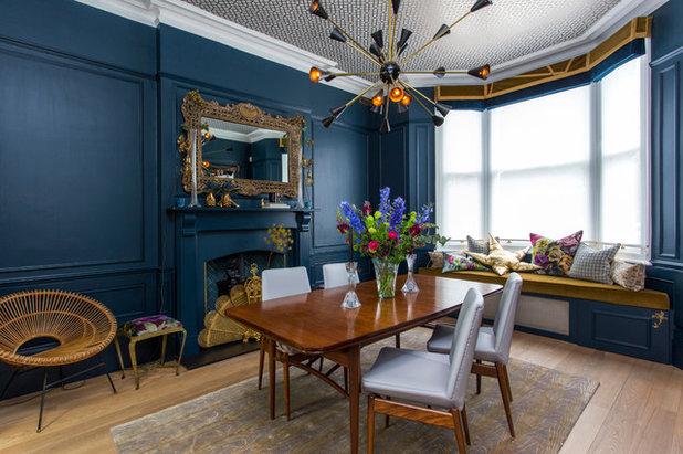 Midcentury Dining Room by Balance Design