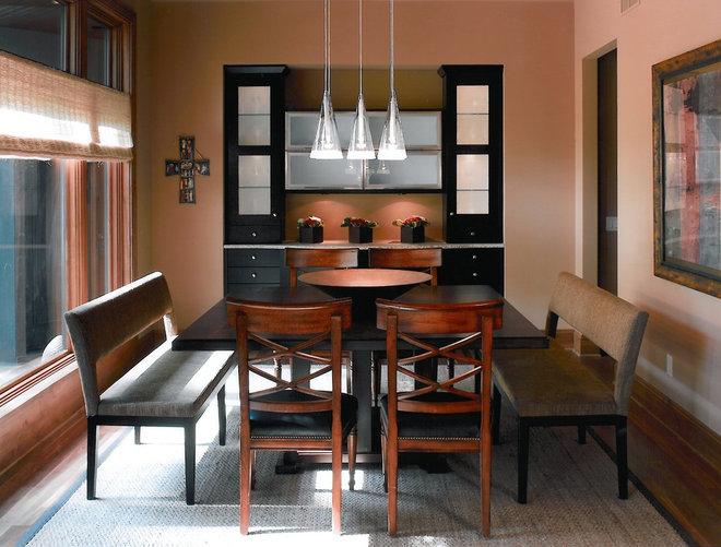 Contemporary Dining Room by Bruce Kading Interior Design