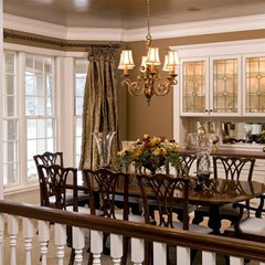 traditional dining room by Bruce Kading Interior Design