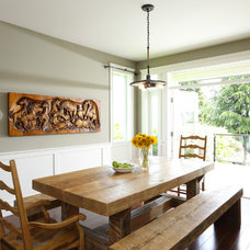 Traditional Dining Room by Wallmark Homes