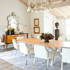 Contemporary Dining Room by R Brant Design