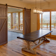 Craftsman Dining Room by Associated Designs, Inc.