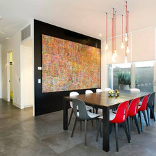 Contemporary Dining Room by Melbourne Contemporary Kitchens