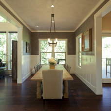 Traditional Dining Room by nicole helene designs
