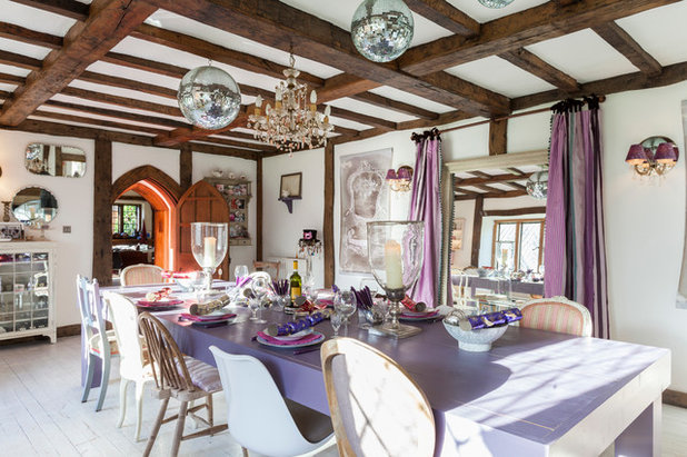 Traditional Dining Room by Chris Snook