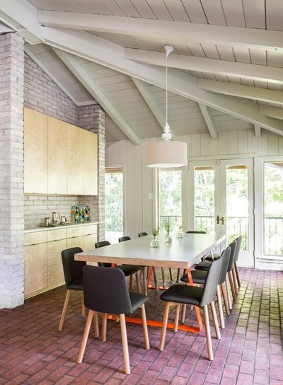 Contemporary Dining Room by Taggart Design Group