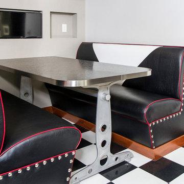 Nostalgic Industrial Dining Room