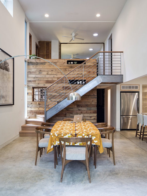 SaveEmail - Reclaimed Wood Feature Wall Houzz