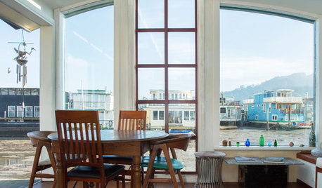 My Houzz: Gorgeous Views From a Renovated Houseboat Near San Francisco