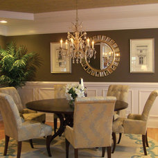 Traditional Dining Room by KN Interiors
