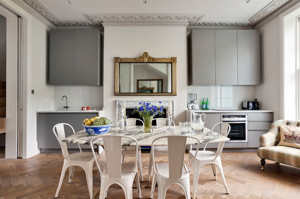 Eclectic Dining Room by STEPHEN FLETCHER ARCHITECTS