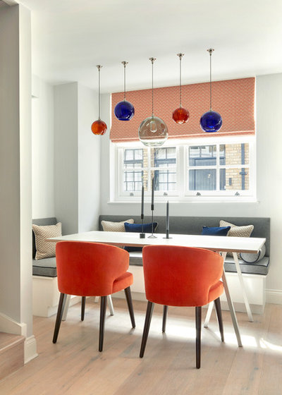 Contemporary Dining Room by Jess Lavers Design