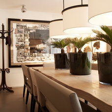 Contemporary Dining Room by Kelly Hoppen London