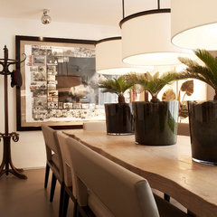 contemporary dining room by Kelly Hoppen Interiors