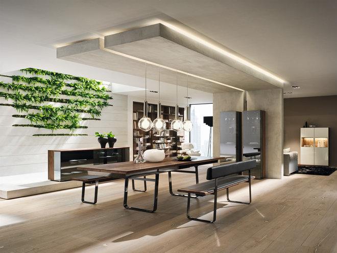 Modern Dining Room by Wharfside