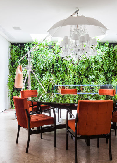 Contemporary Dining Room by Galeazzo Design