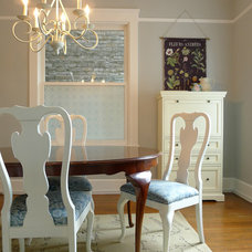 Traditional Dining Room by Sarah Coombs Design