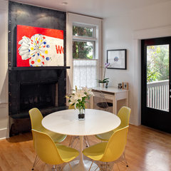 eclectic dining room by Vanillawood