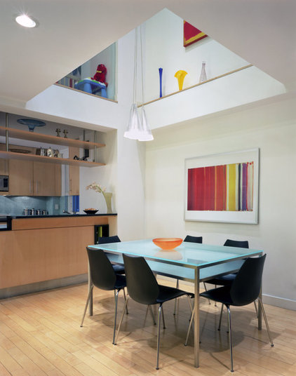 contemporary dining room by Chelsea Atelier Architect, PC
