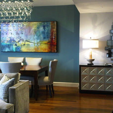 Contemporary Dining Room by RDM Interiors