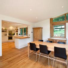Contemporary Dining Room by Martin Blake Associates ltd