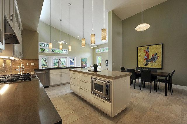 Modern Dining Room by Brodie Builders
