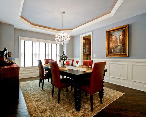 Silver Blue Paint Home Design Ideas, Renovations & Photos
