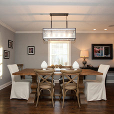 Contemporary Dining Room by Oakley Home Builders