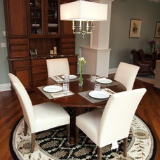 Dining Room by Oakley Home Builders